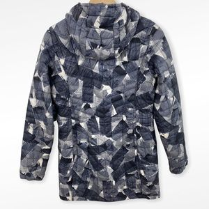 North Face Abstract Print Thermoball Eco Parka